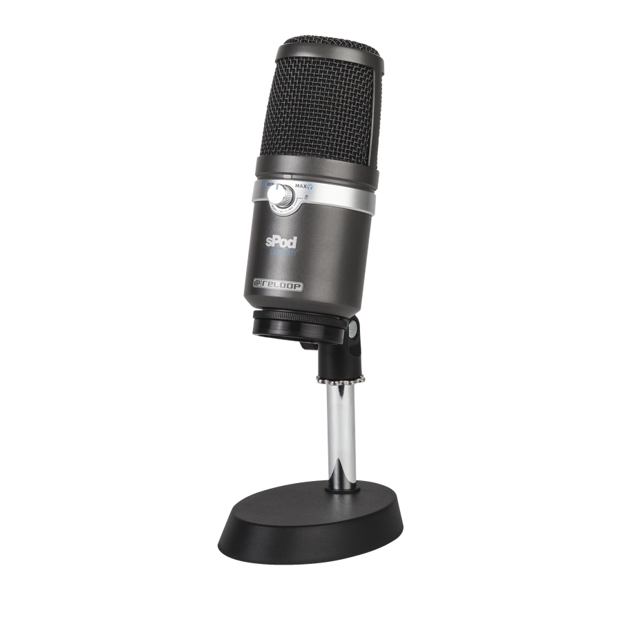 Reloop sPOD Platinum USB mikrofon