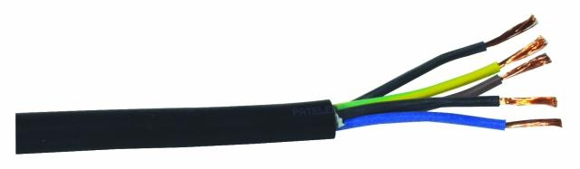Image of   Gummi Kabel 5x2,5mm 50 meter