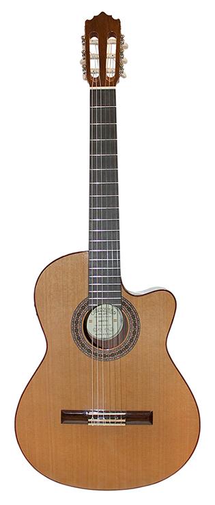 Santana 181EC Klassisk Guitar, Cutaway og Pickup