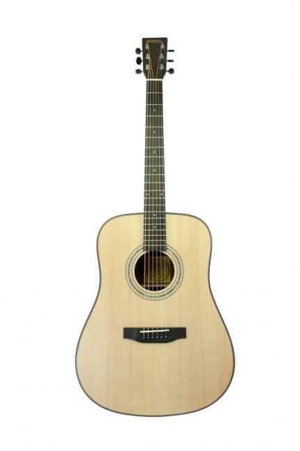 Santana ST200 Western Guitar - Inkl. Taske og Stativ