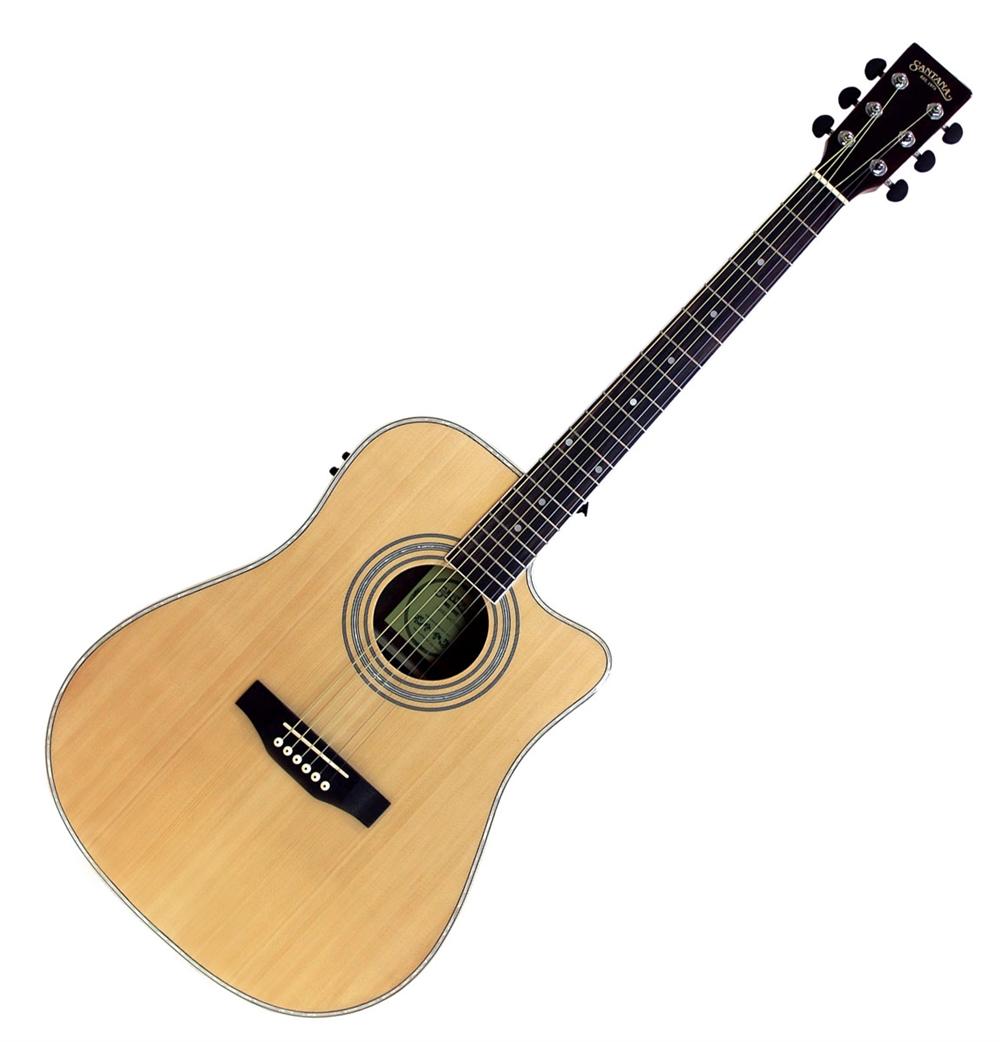 Santana LA-90EQCW-NT v2 Western Guitar Natur