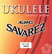 Strenge til sopran- og concert-ukulele