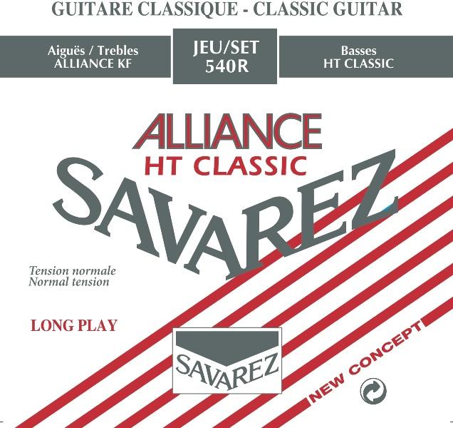 Savarez 540R Rød Alliance guitarstrengesæt, norm