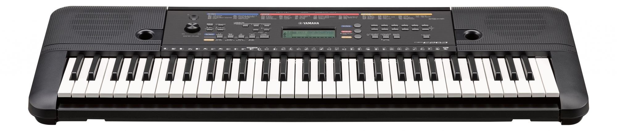 Yamaha PSR-E263 digitalkeyboard - sort