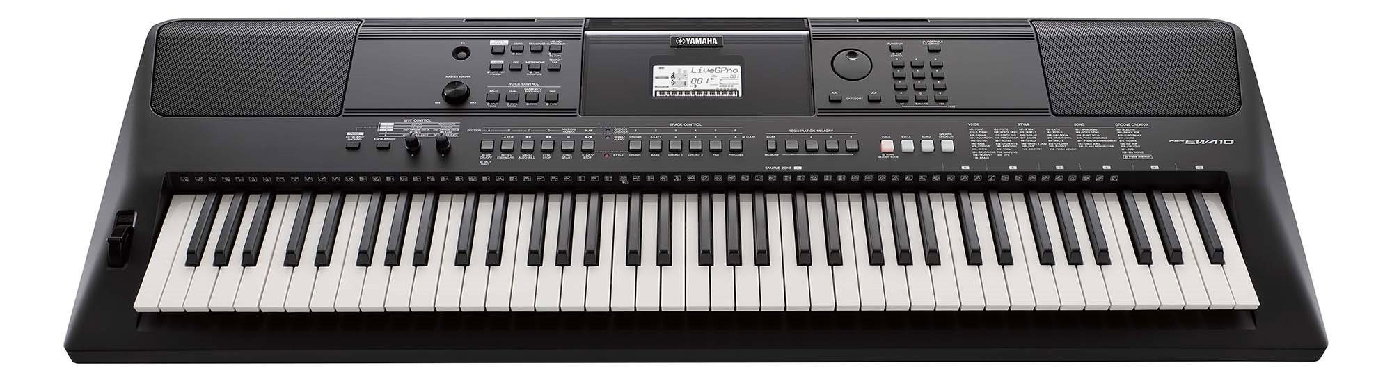 Yamaha PSR-EW410 digitalkeyboard