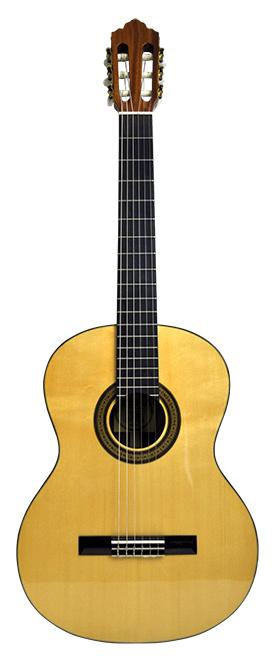 Santana ST20G Klassisk Guitar, Massivt Dæk, Høj Glans
