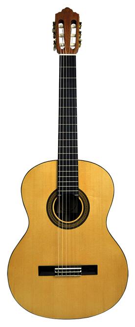 Image of   Santana ST20S Klassisk guitar massivt dæk, Silkemat