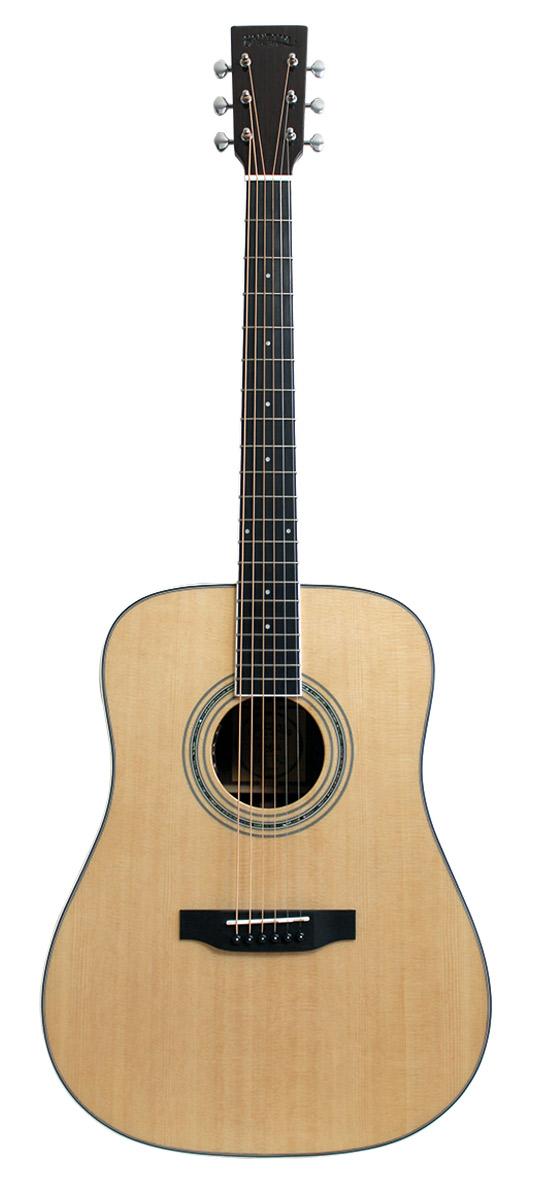 Image of   Santana ST300WD Western Guitar - Sort Valnød og Høj Glans