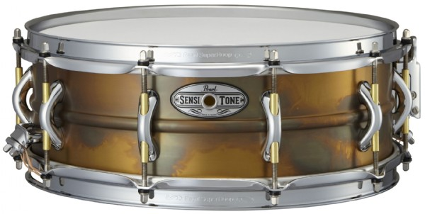"Pearl 14x5"" SensiTone Beaded Brass lilletromme"
