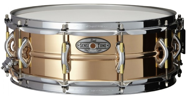 "Pearl 14x5"" SensiTone Premium Beaded Phosphor Bronzed lilletromme"