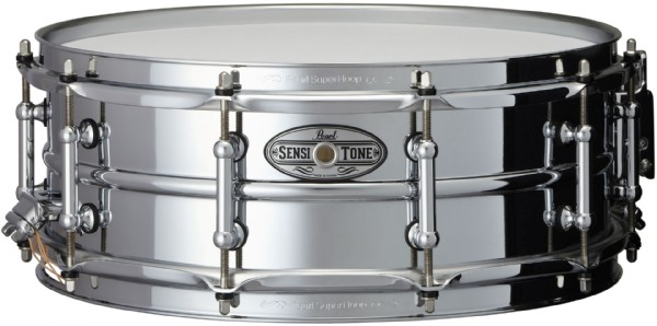 "Pearl 14x5"" SensiTone Beaded Steel lilletromme"
