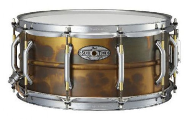 "Pearl 14x6,5"" SensiTone Beaded Brass lilletromme"