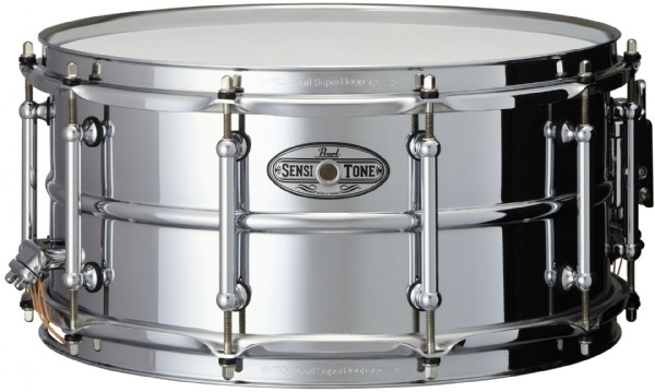 "Pearl 14x6,5"" SensiTone Beaded Steel lilletromme"