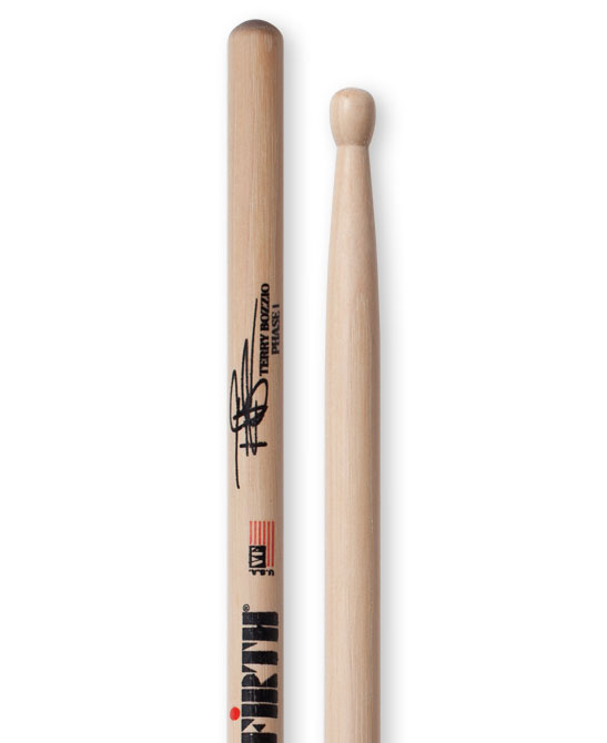 Image of   Vic Firth Terry Bozzio signatur trommestikker
