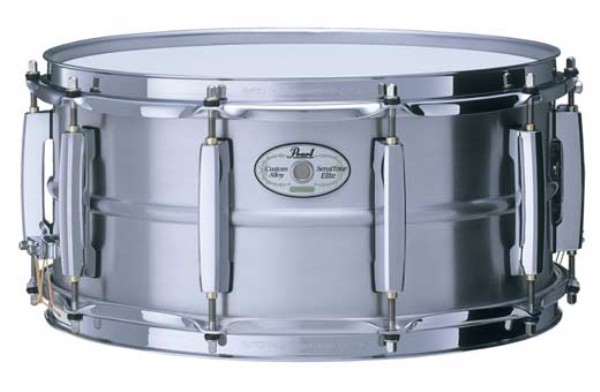 "Pearl 14x6,5"" SensiTone Beaded Seamless Aluminium lilletromme"