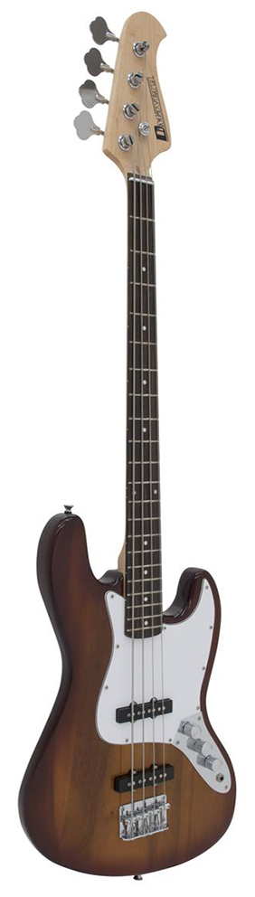 Image of   DiMavery Jazz Bas, Sunburst