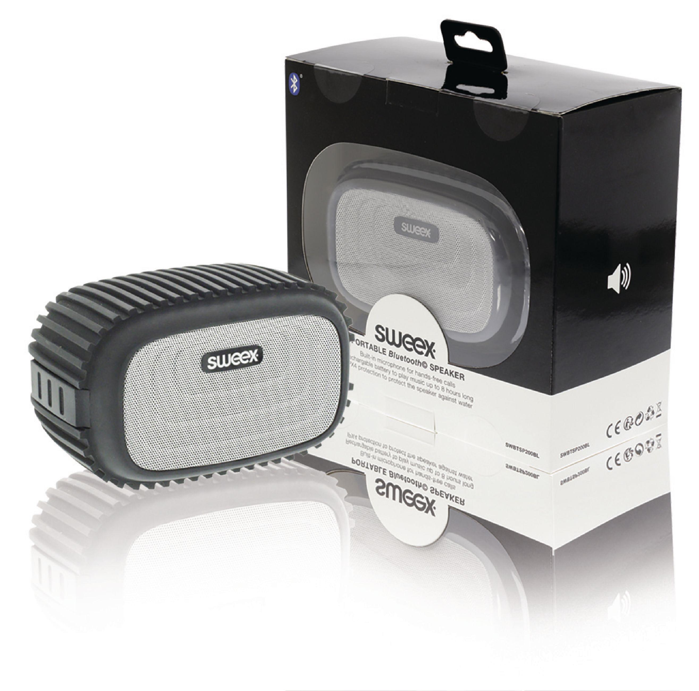 Image of   Bluetooth Højttaler 4 W Indbygget Mikrofon Sort/Sølv
