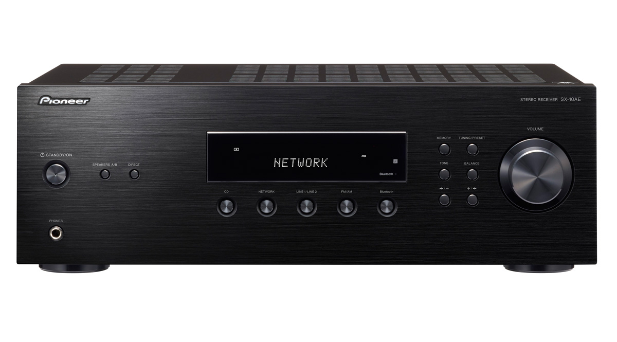 Image of   Pioneer SX-10AE - Stereo receiver med Bluetooth Farve: Sort