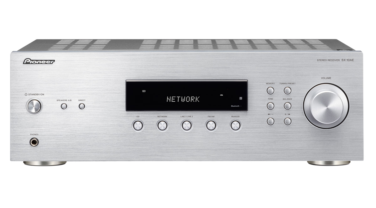 Image of   Pioneer SX-10AE - Stereo receiver med Bluetooth Farve: Sølv