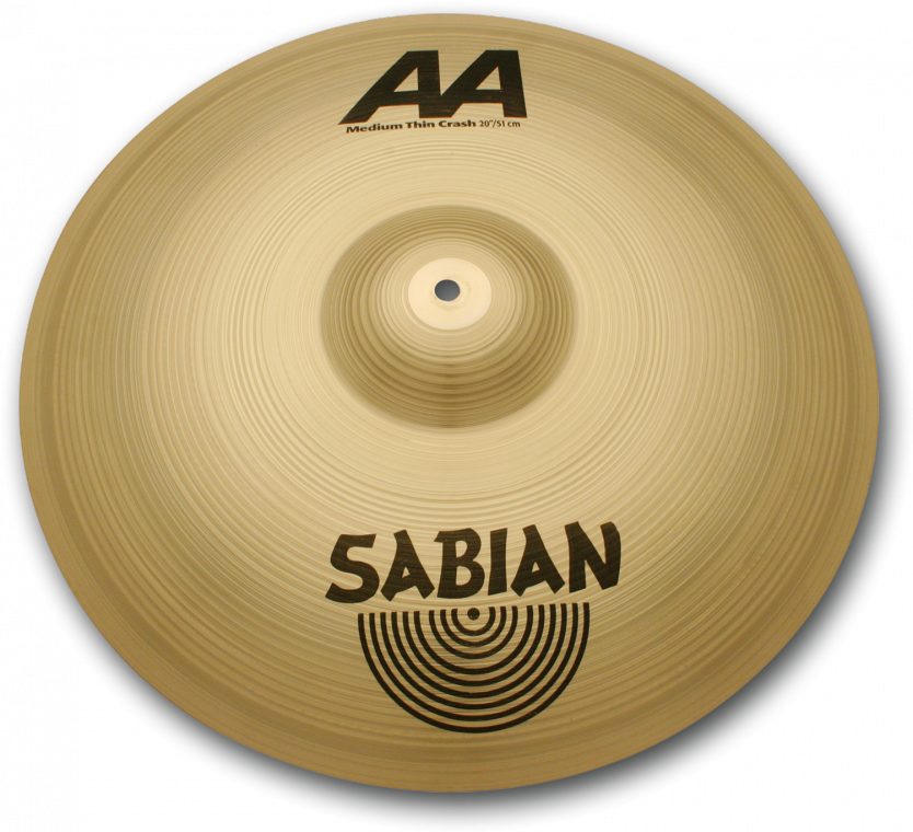 "Image of   Sabian 18"" AA Medium Thin Crash"
