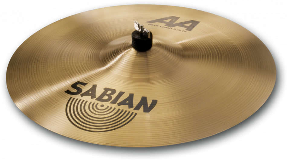 "Image of   Sabian 18"" AA Rock Crash"
