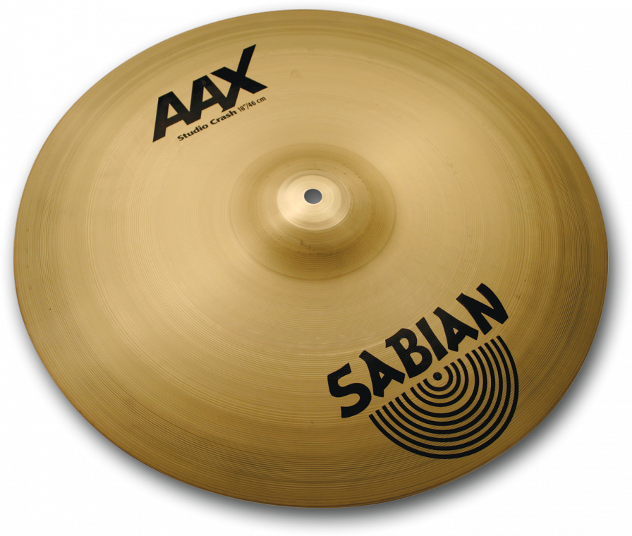 "Image of   Sabian 18"" AAX Studio Crash"