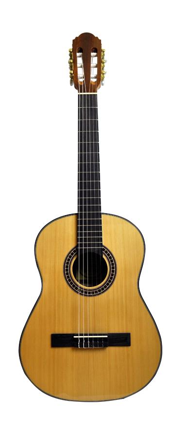 Santana B7 klassisk 3/4 guitar, Natur LEFT