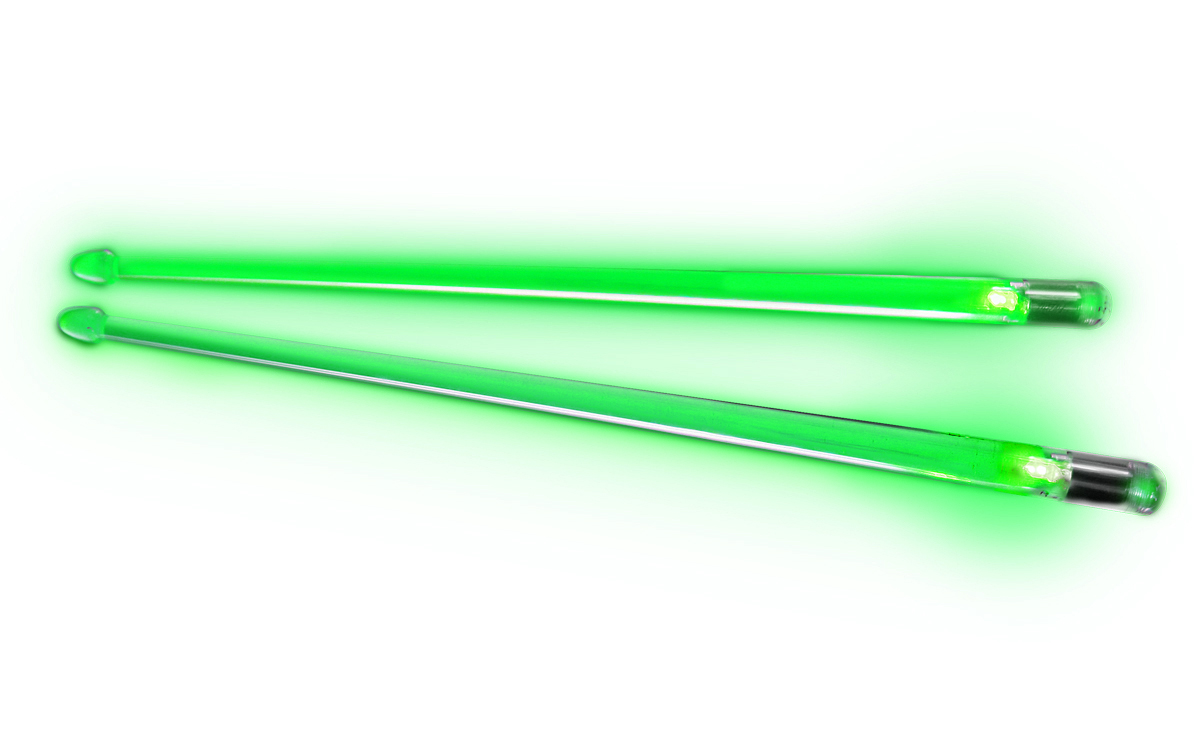 Image of   Firestix trommestikker Screamin Green