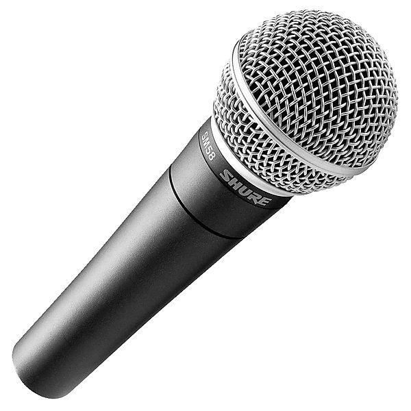 Karaoke mikrofon testvinder: Shure SM58 mikrofon