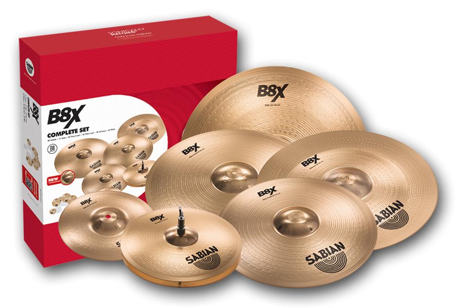 Sabian B8X The Complete Set Bækkenpakke