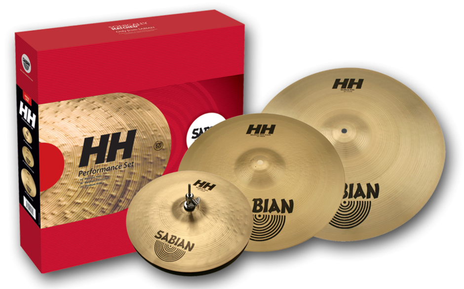 Sabian HH Performance Set Bækkenpakke