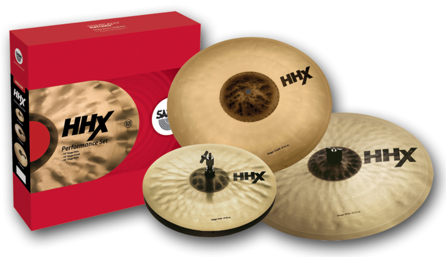 Sabian HHX Performance Set Bækkenpakke