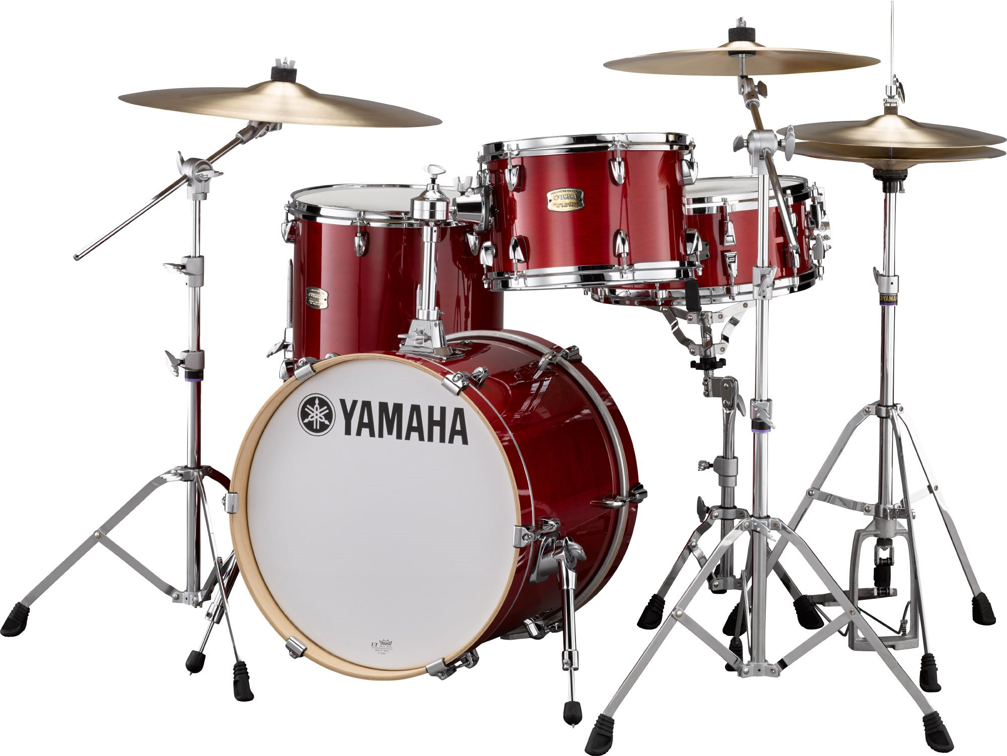 Image of   Yamaha Stage Custom Birch Bop Kedelsæt Cranberry Red