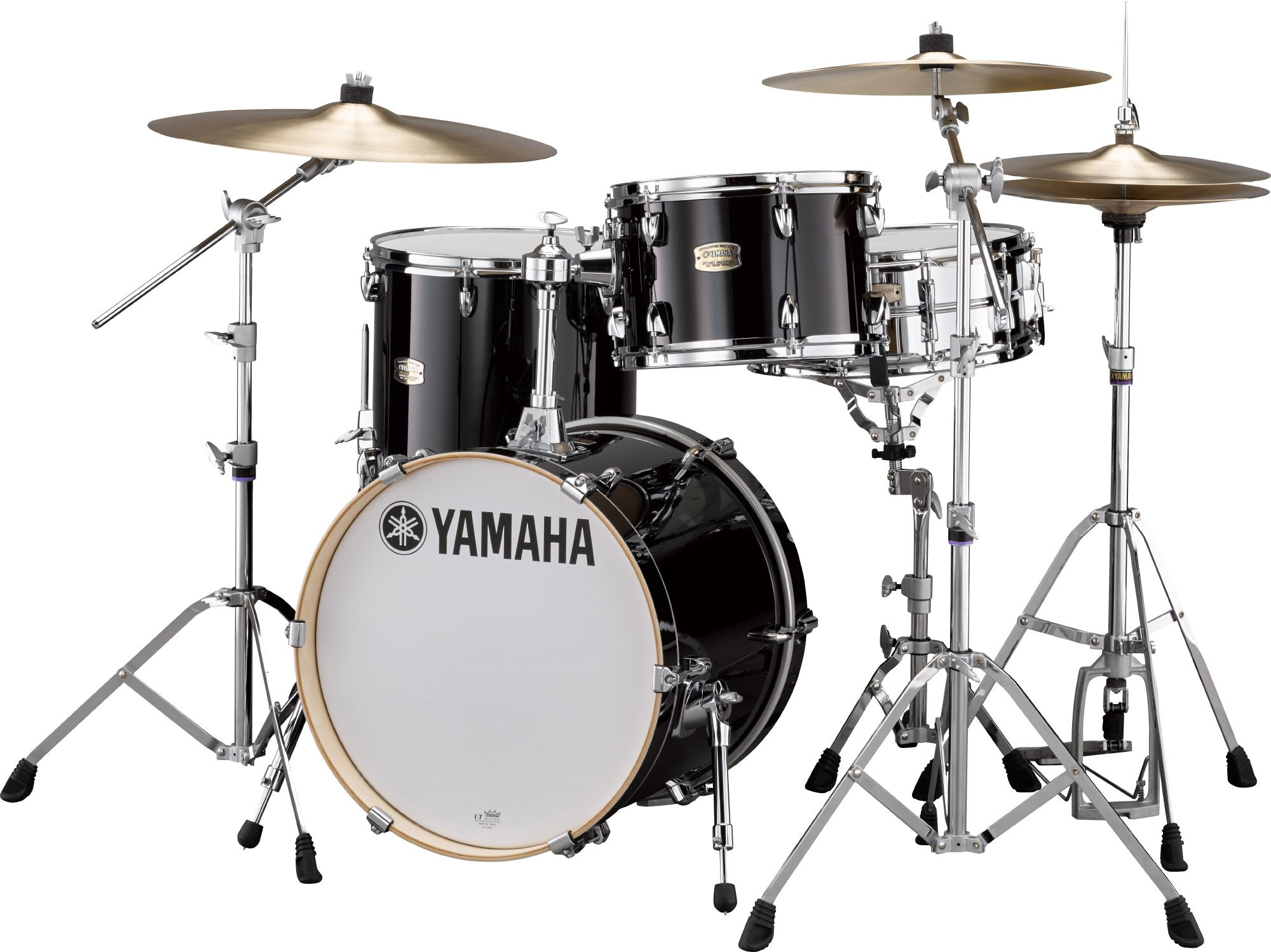 Yamaha Stage Custom Birch Bop Trommesæt Raven Black