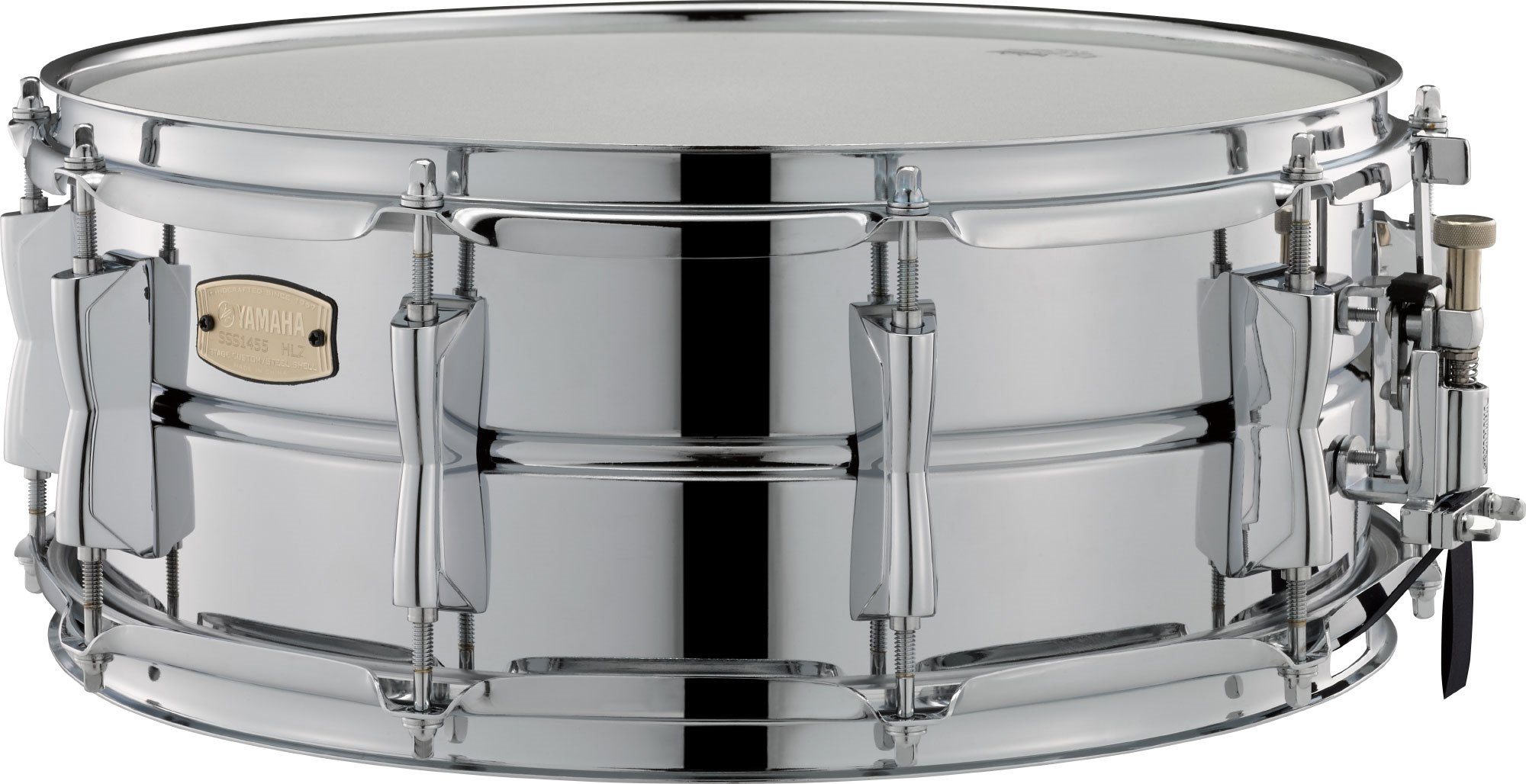 "Yamaha 14x5,5"" Stage Custom Steel lilletromme"