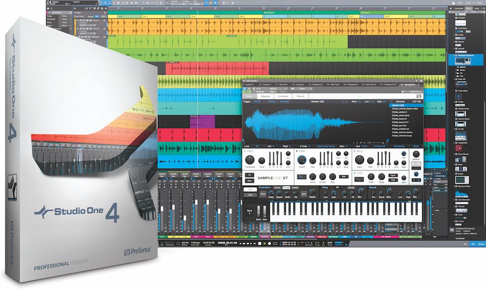 Image of   Presonus Studio One Professional 4 Crossgrade: Qualified 3rd Party Full DAW to Professional