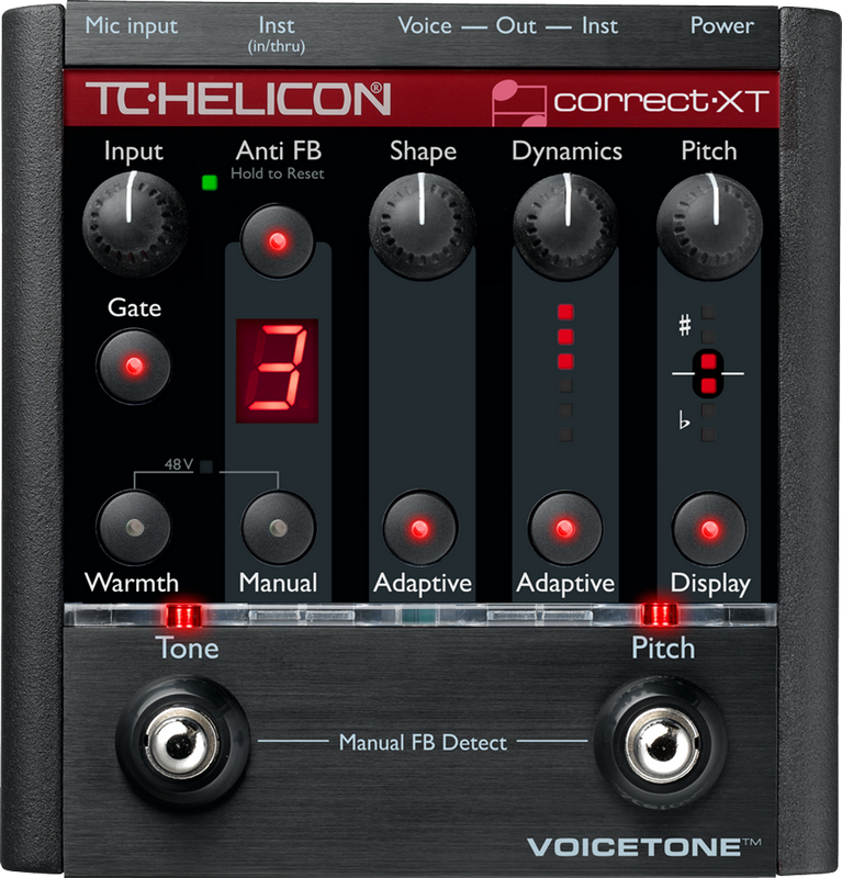 Image of   TC Helicon VoiceTone Correct XT