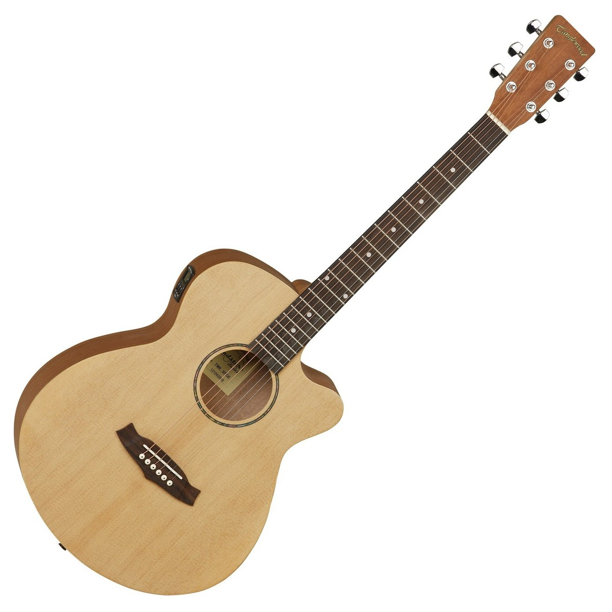 Tanglewood Roadster TWR SFCE, Western guitar (Naturlig satin)