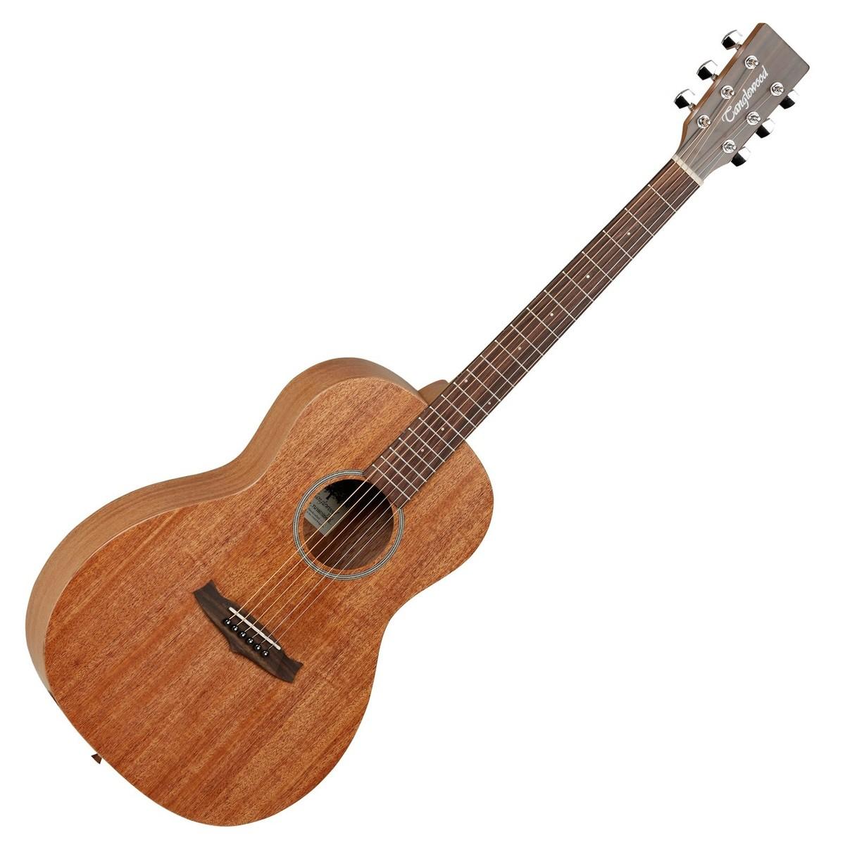 Image of   Tanglewood Winterleaf TW3 Parlour, Western guitar (Naturlig satin)