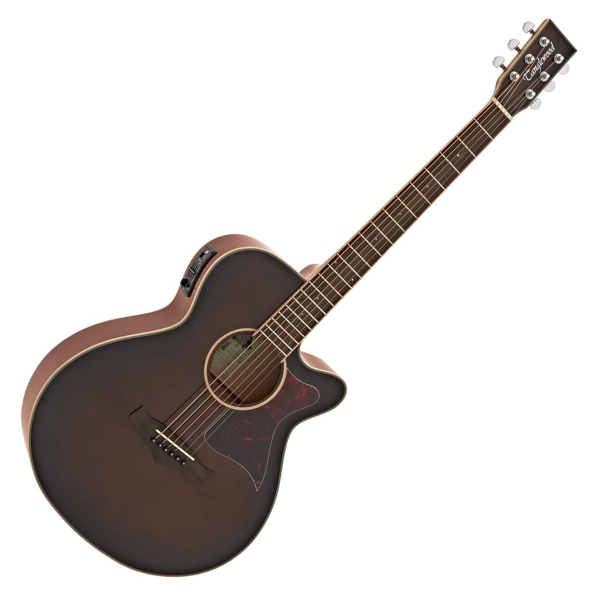 Image of   Tanglewood Winterleaf TW4 WB, Western guitar (Whiskey højglans)