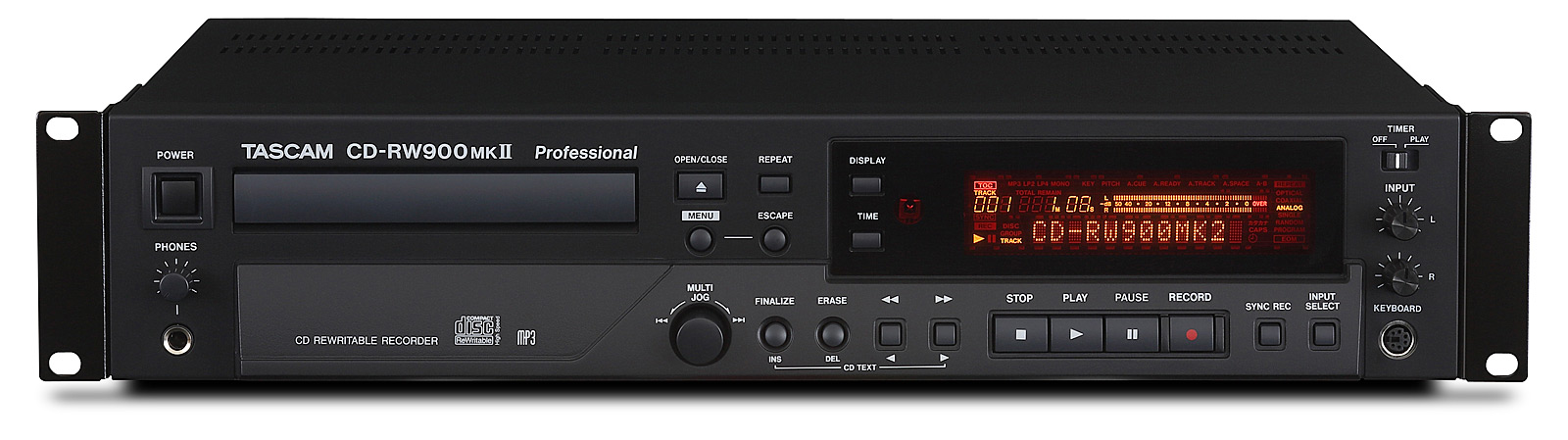 Image of   Tascam CD-RW900MK2 CD recorder