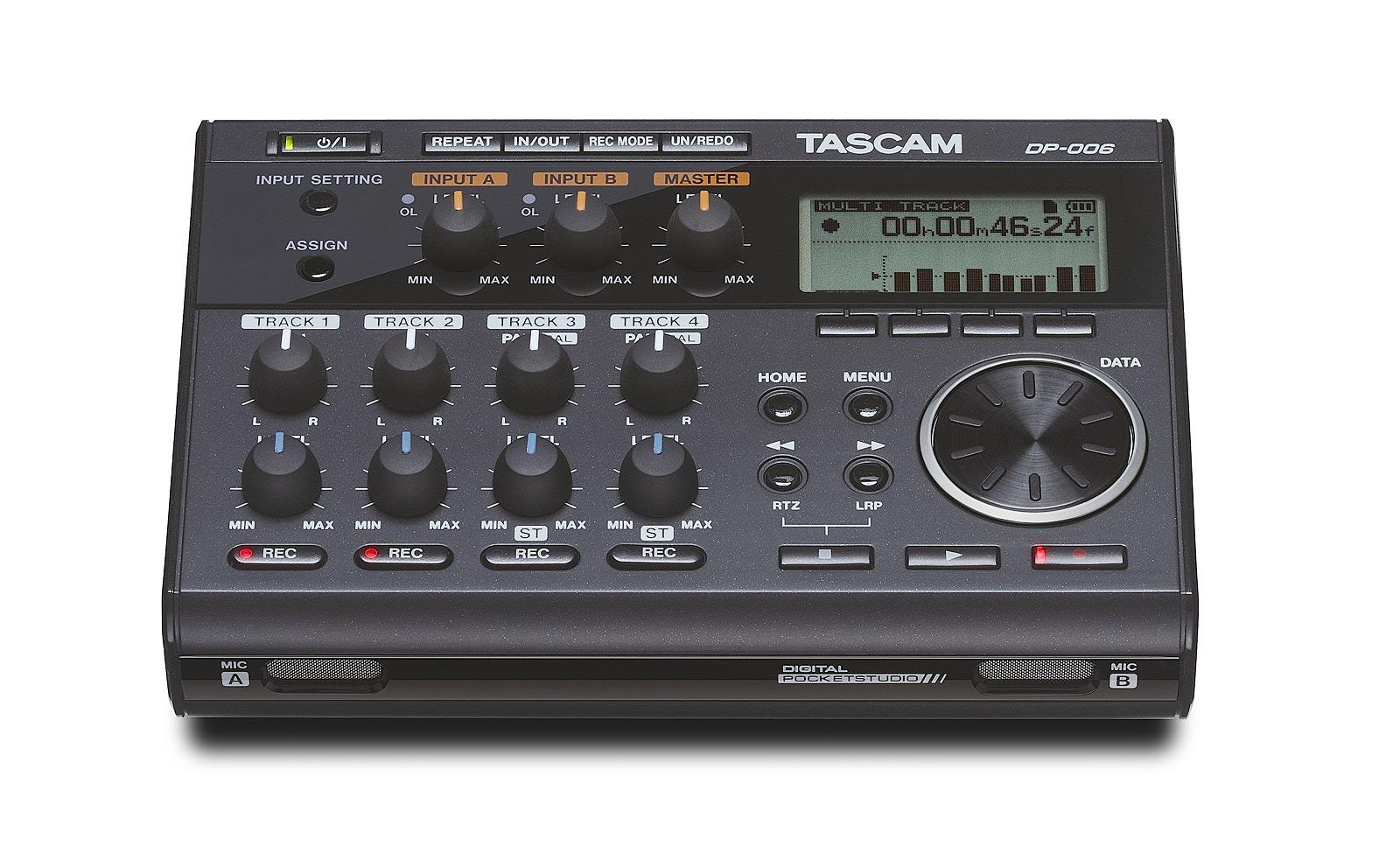 Image of   Tascam DP-006 digital 6-track recorder