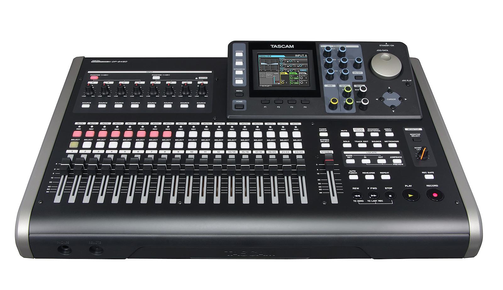 Image of   Tascam DP-24SD digital 24 track recorder