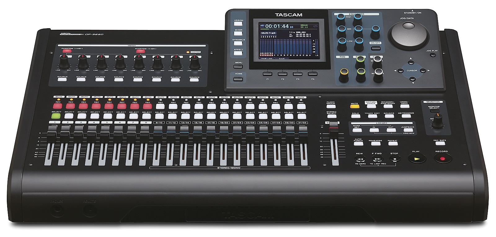 Image of   Tascam DP-32SD digital 32 track recorder