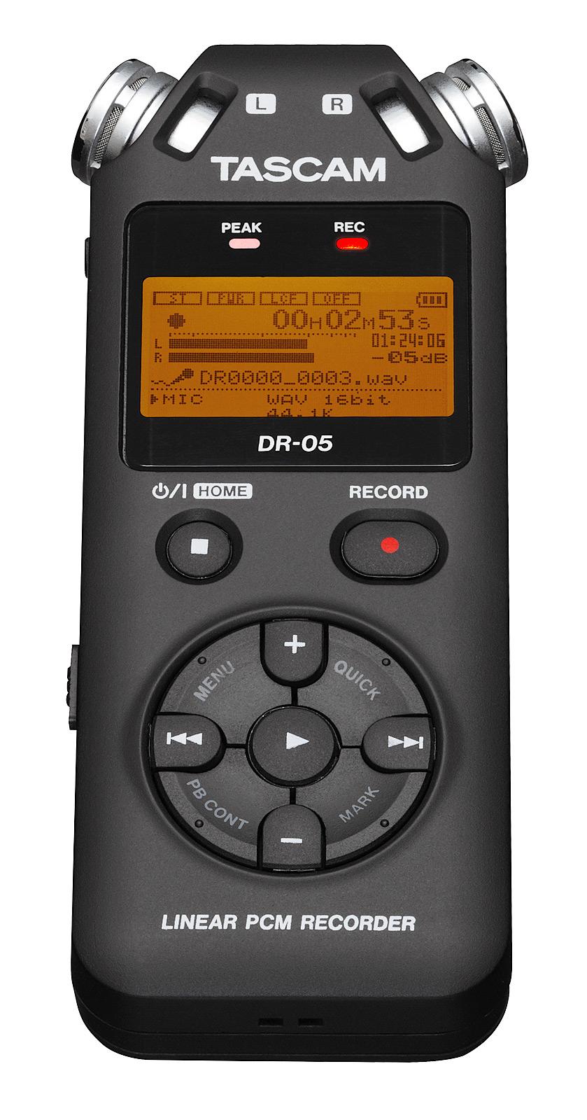 Image of   Tascam DR-05 V2 håndholdt stereo optager