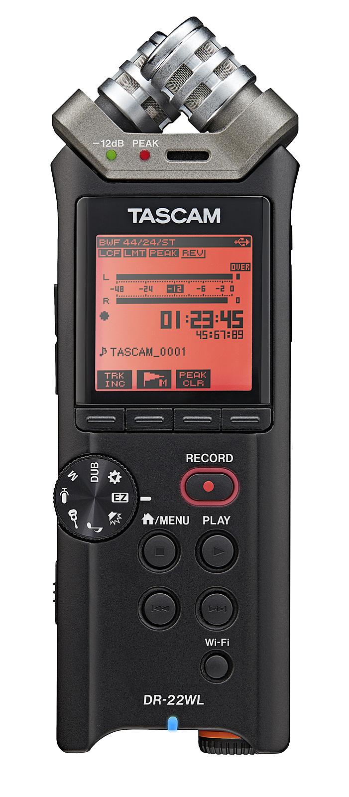 Image of   Tascam DR-22WL håndholdt stereo optager