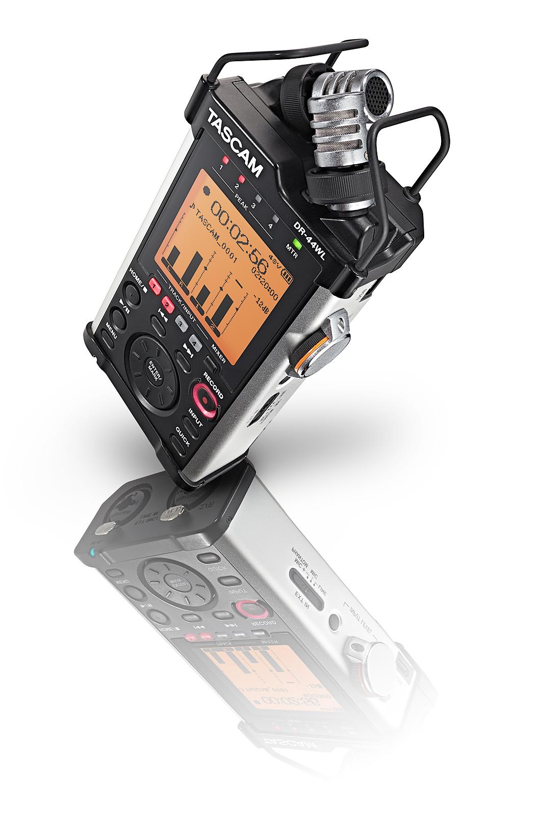 Image of   Tascam DR-44WL håndholdt stereo optager