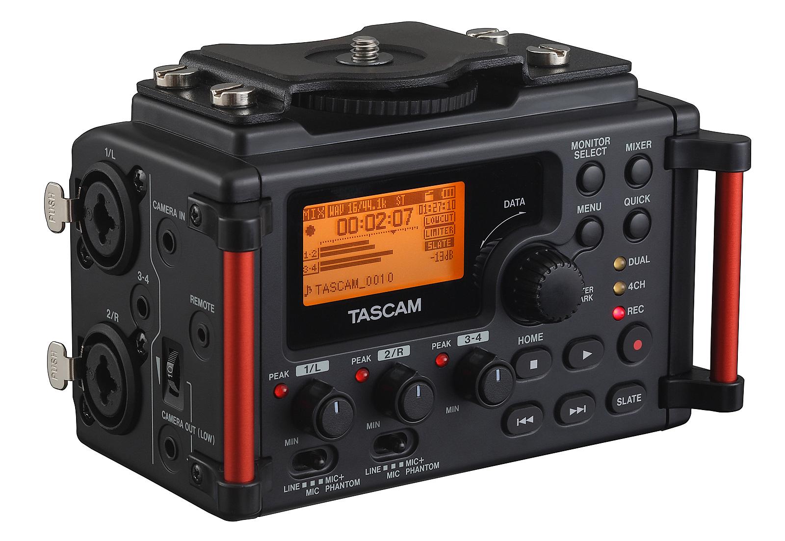 Image of   Tascam DR-60DMK2 audio recorder til DSLR