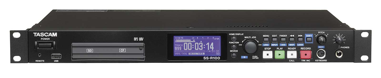 Image of   Tascam SS-R100 harddisk audio recorder WAW/MP3