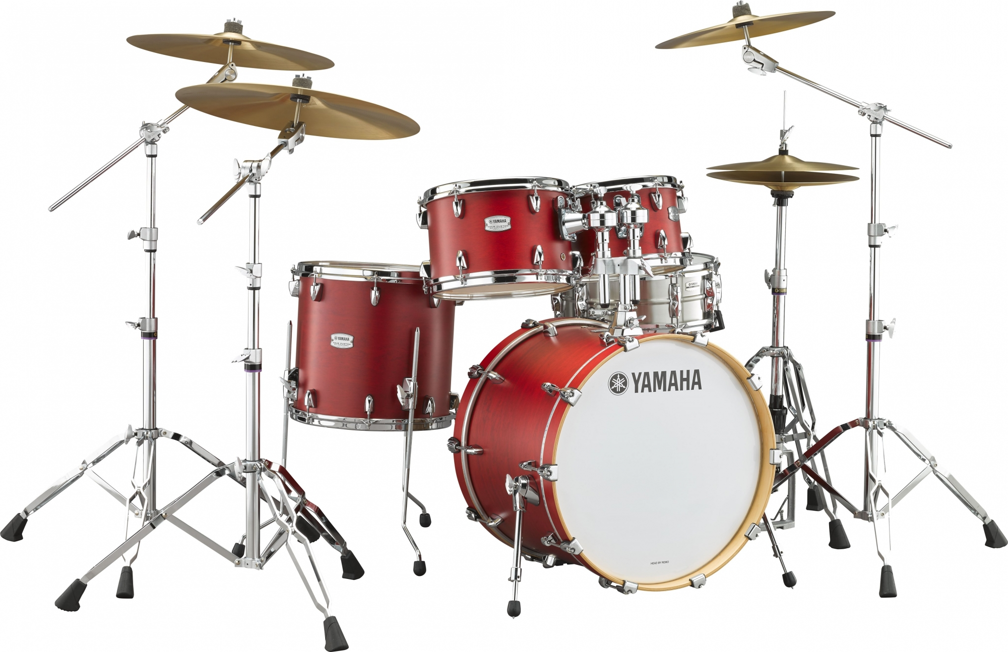 Yamaha Tour Custom Standard Trommesæt - Candy Apple Satin